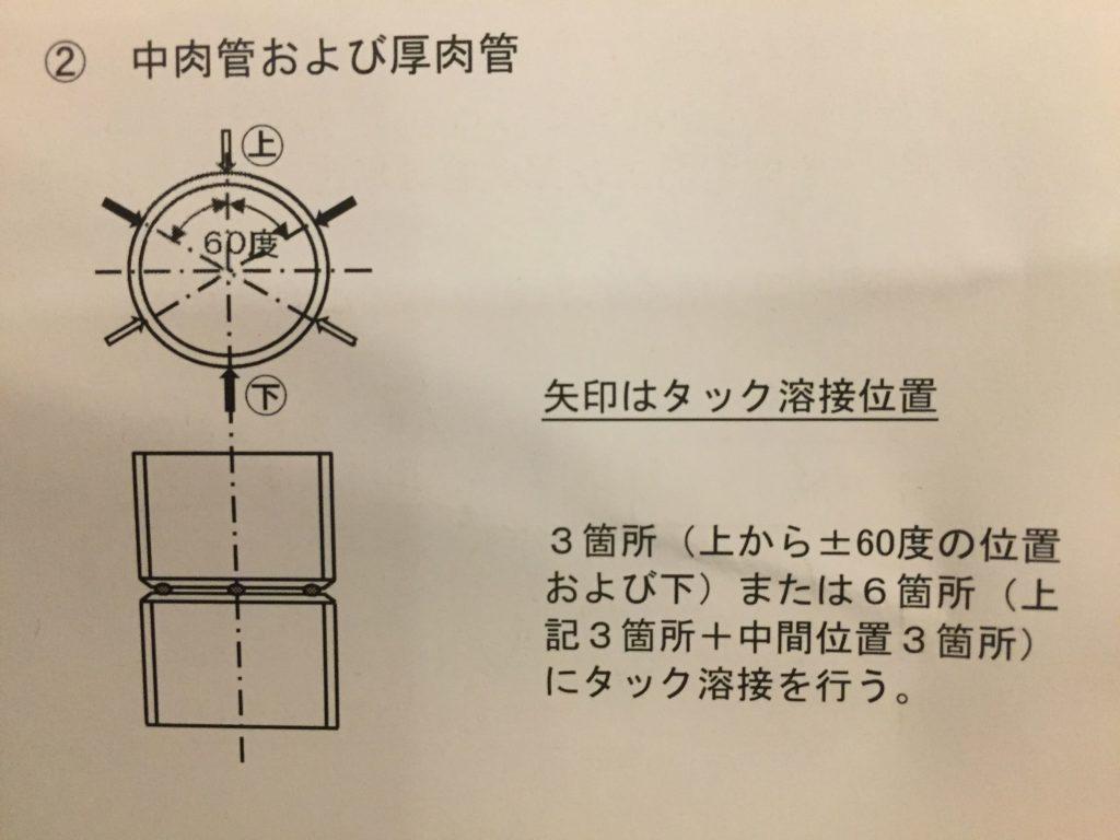 【C-2P】仮付け位置